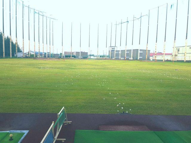 イーグルゴルフセンターのレンジ