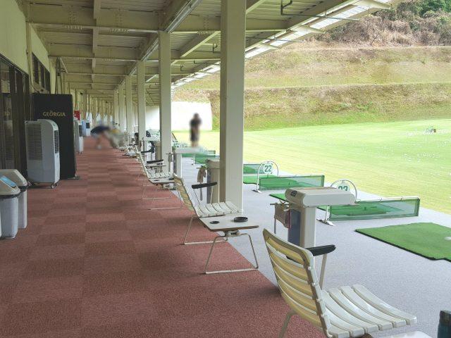 加茂ゴルフセンター 打席