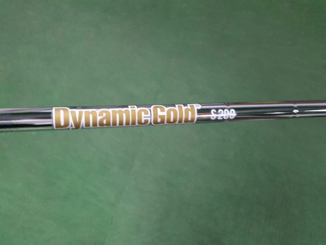 RTX ZIPCORE シャフト-ダイナミックゴールド S200